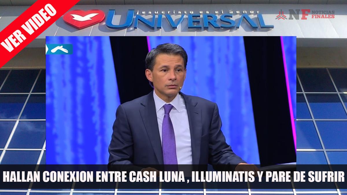 Descubren que Cash Luna pertenecería a la iglesia Pare de