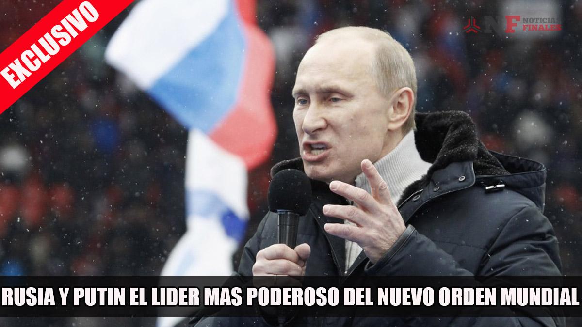 Resultado de imagen para vladimir putin lider del nuevo orden mundial