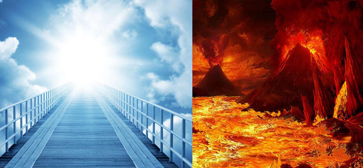 Ni os tienen revelaci n del cielo y del infierno durante for La camera del cielo
